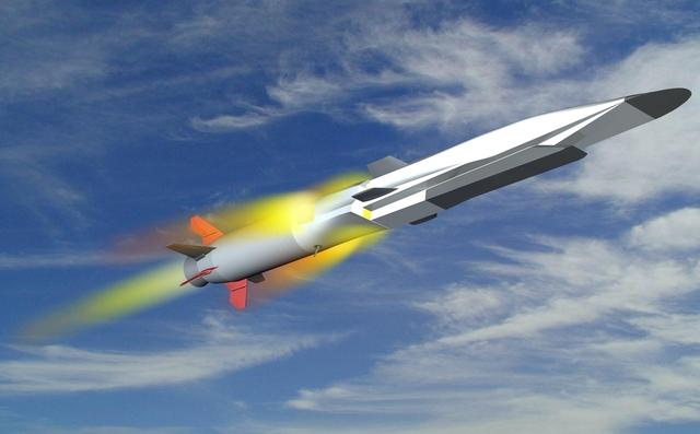 Hypersonic rakett X-51A WaveRider