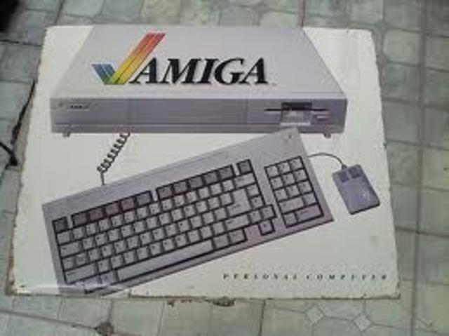 AMIGA 1000 y ATARI 520st