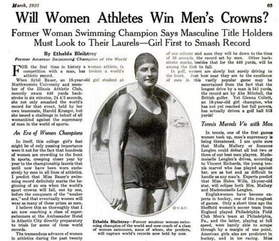 Breaking Men's Record?