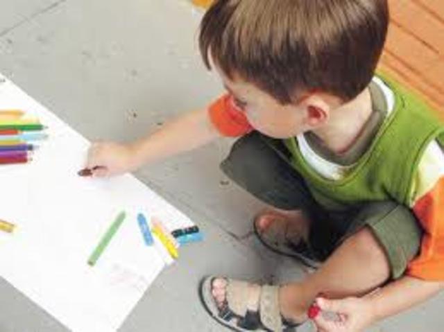 Motricidad en los niños 3 Años