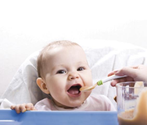 Alimentacion de un niño de 7-11 Meses