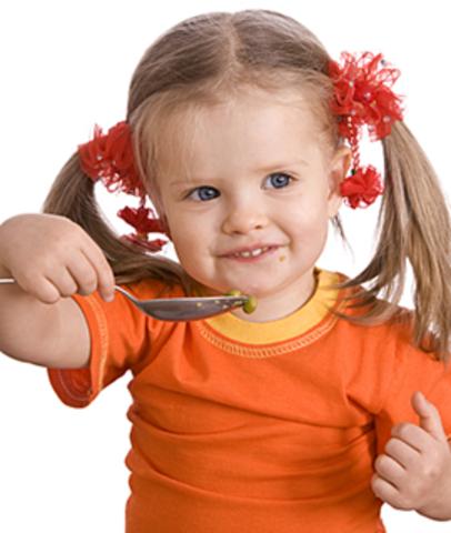 Alimentación de un niño de 2 Años