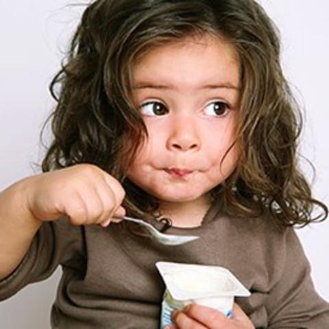 Alimentación de un niño de 3 Años