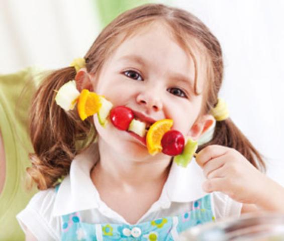 Alimentación de un niño de 4 Años