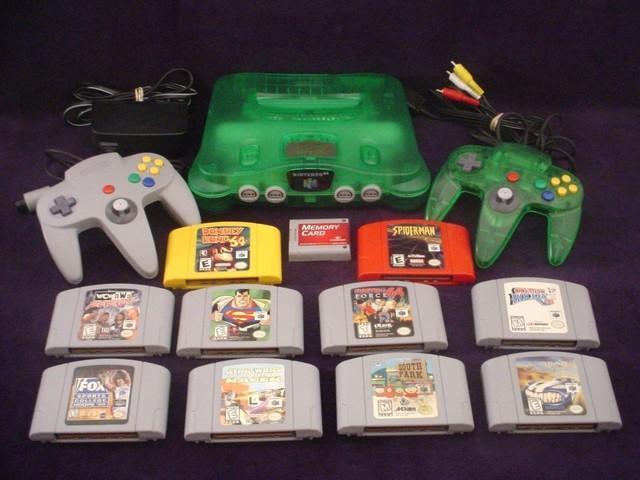 J´ai eu un Nintendo 64 pour Christmas.
