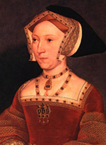King Henry VIII marrys Jane Seymour