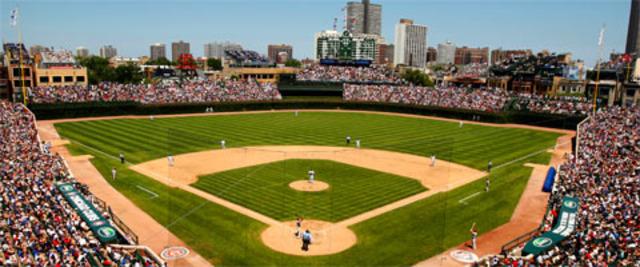 J´ai assisté un match de baseball de Chicago Cubs.
