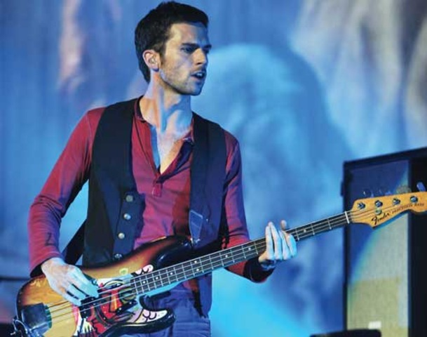 Bassist, Guy Berryman is born