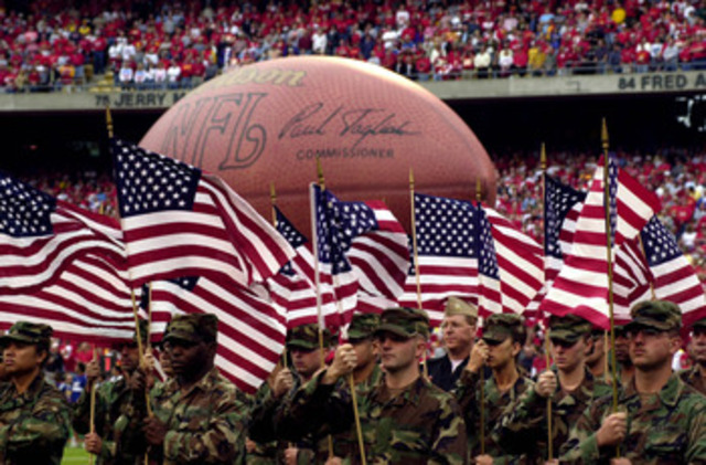 Nfl helps the healing of 9-11