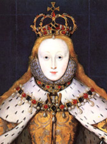 Elizabeth I is coronated as Queen of England