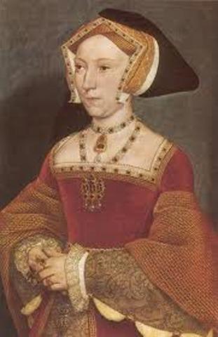 Death of Jane Seymour