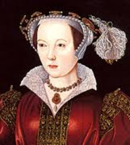 Marriage to Katherine Parr