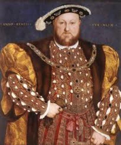 Death of King Henry VIII