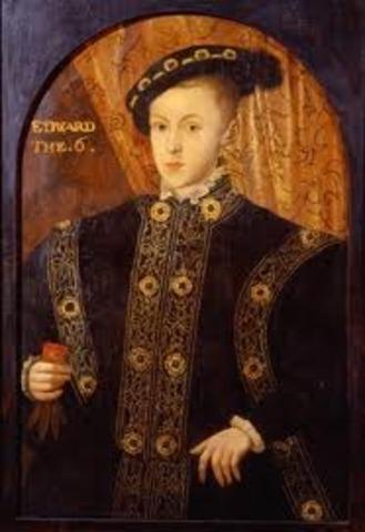 Death of King Edward VI