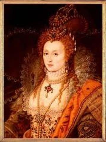 Queen Elizabeth Takes the Throne