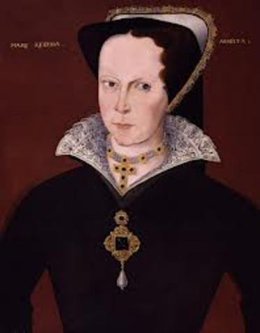 Birth of Queen Mary I
