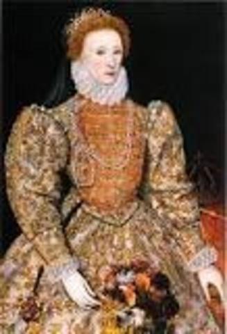 Mary Dies, Elizabeth I takes the throne