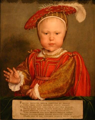 Edward VI Born