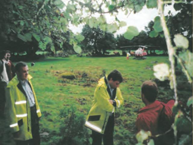First Airlift for Devon Air Ambulance