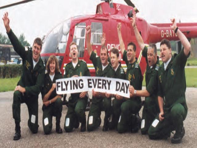 7-day flying for Devon Air Ambulance