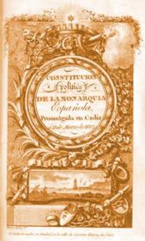 """""""La Pepa"""",  Primera Constitución"""
