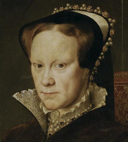 Mary I Dies