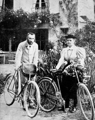 Marie and Pierre Curie Discover Radium