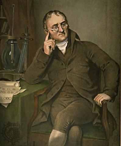 John Dalton Proposed His Atomic Theory