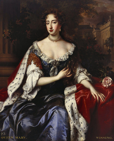 Mary the II of England