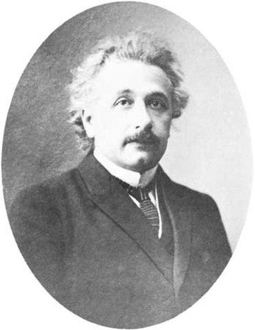 Albert Einstein Developed the Theory of Relativity