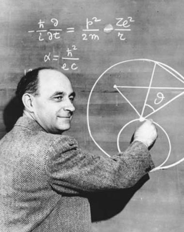 Enrico Fermi Wins a Nobel Prize