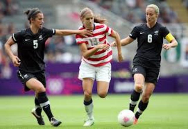 Woman Soccer Olympics