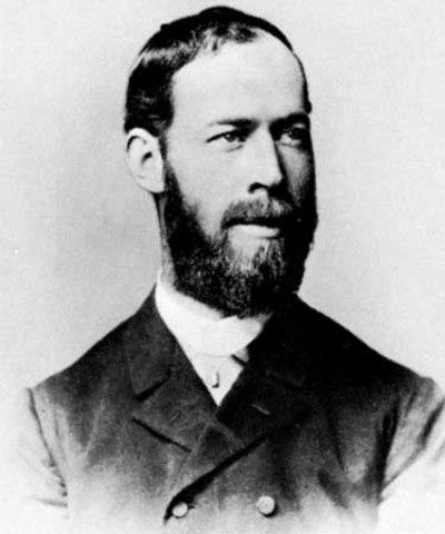 Heinrich Hertz Broadcasts and Receives Radio Waves