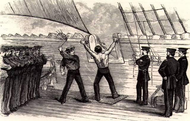 Flogging banned