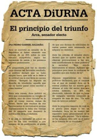 Første avis (131 f.kr.)