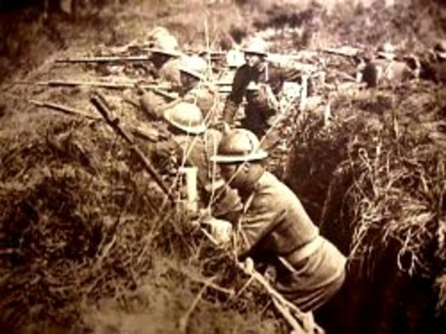I GM-La guerra de trincheras