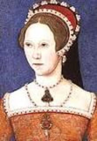 Mary I Born