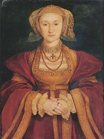 King Henry VIII marries Anne of Cleves
