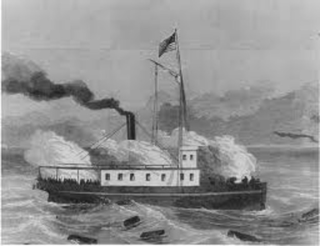 Steamer Fanny Captured by CSN