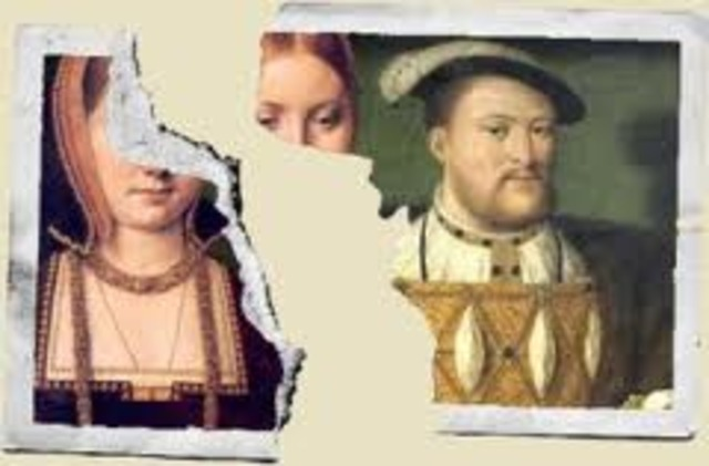 marriage between King Henry and Catherine of Aragon ends
