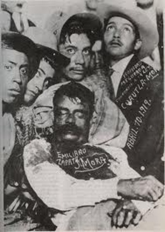 La muerte de Zapata