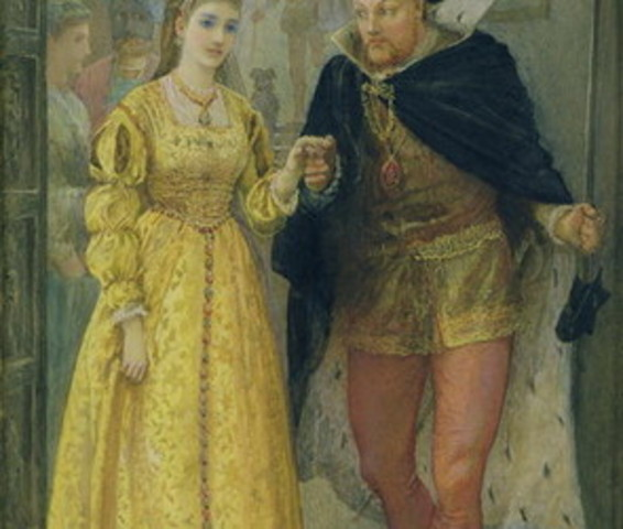 King Henry VIII divorces Catherine of Aragon
