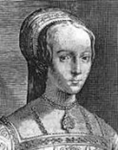 Henry VI Names Lady Jane Grey as His Heir
