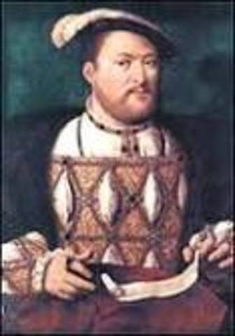 King Henry VIII Takes the Throne + Biography