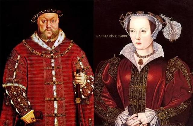 Kathirine Parr marries Henry viii