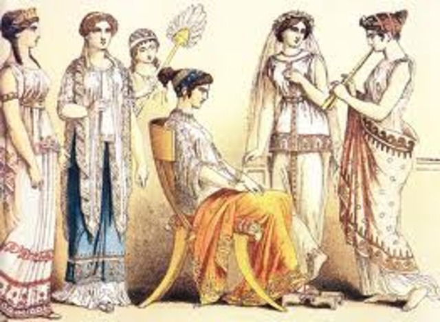 second class ancient fashion