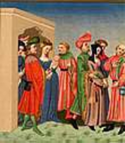dressing in middle ages