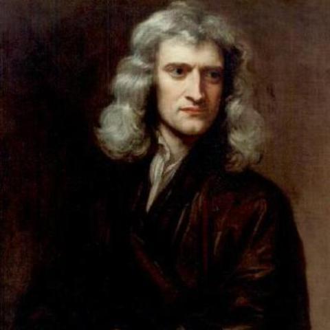 Sir Isaac Newton gets Knighted