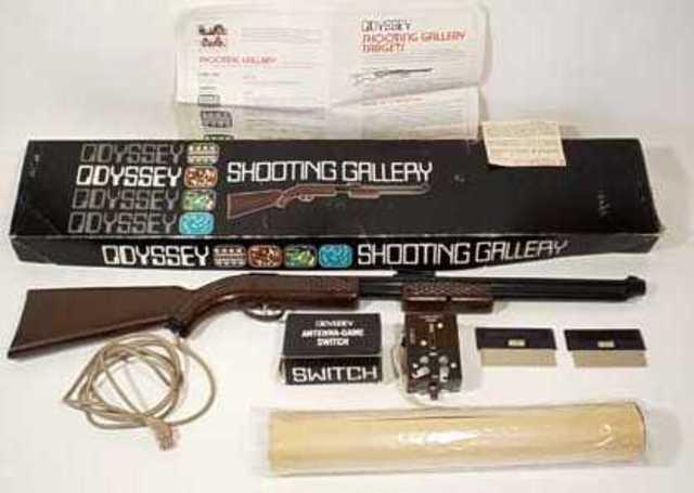 Shooting Gallery - Light Gun