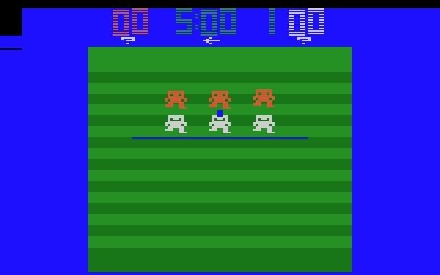 Atari Football - Scrolling Screen + Trackball